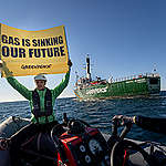 Greenpeace razkriva nevarnosti industrije fosilnega plina v hrvaškem Jadranskem morju