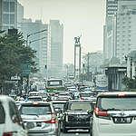 Air Pollution in Jakarta. © Jurnasyanto Sukarno / Greenpeace