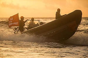 Dirty Palm Oil Protest against the Stolt Tenacity in the Atlantic Ocean. © Jeremy Sutton-Hibbert / Greenpeace