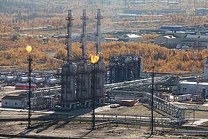 Oil Pollution Documentation in Komi Republic Russia. © Daniel Müller / Greenpeace