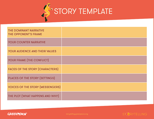 ''Story Template' Handout Thumbnail