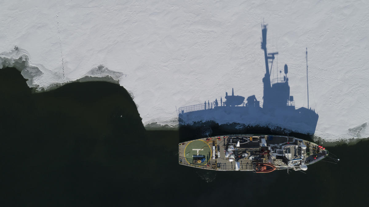 Protect the Oceans Expedition - Arctic Leg. © Christian Åslund / Greenpeace