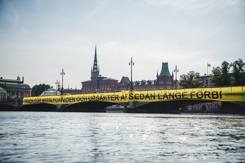 Greenpeace kommentarer till regeringens vårändringsbudget