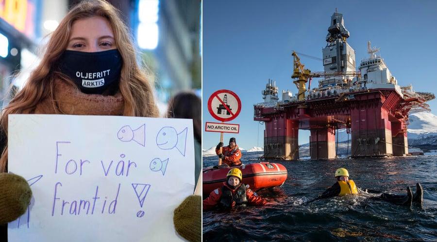 Skydda Arktis, låt oljan ligga!