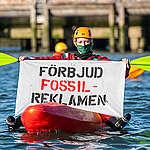 Kapten Röd ansluter sig till kampen mot fossilreklam