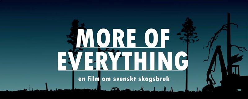 More of Everything – en djupdykning i den svenska skogsindustrins påståenden