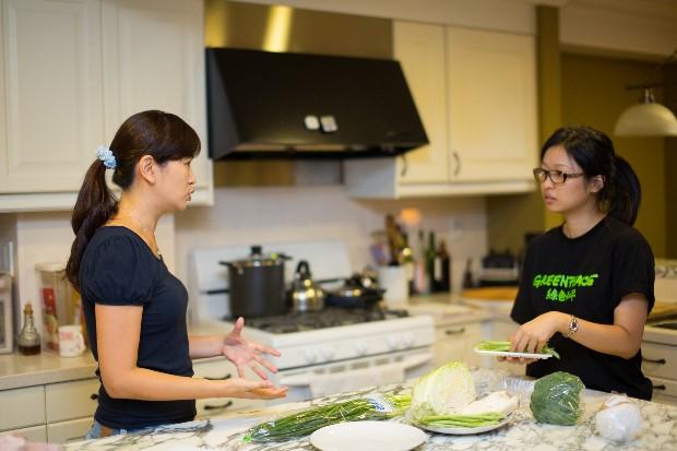 每天為家人準備餐點,臺北的詹小姐希望不只好吃,更能吃得安心。