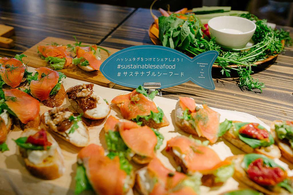 挑選食材時想一想,多支持永續海鮮,是個您我都能做到的開始。