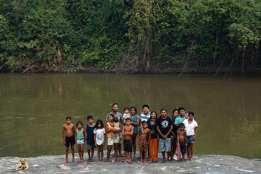 Karipuna原住民在1970年代幾乎滅絕,2018年族群的人口為58。