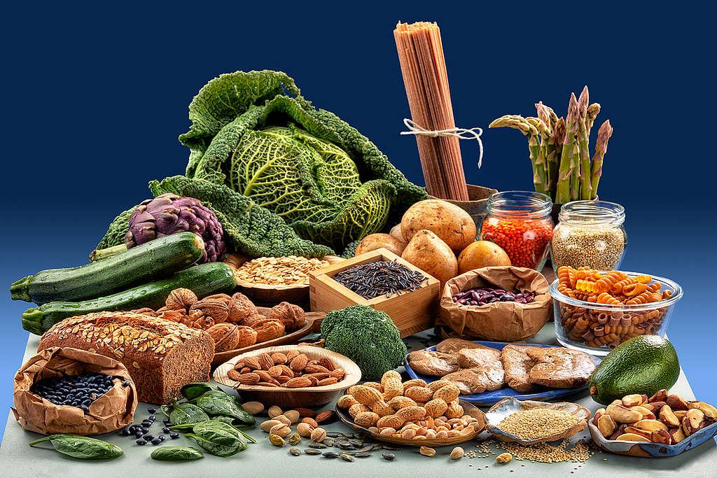 素食者也能從植物攝取豐富蛋白質,達到均衡健康飲食。
