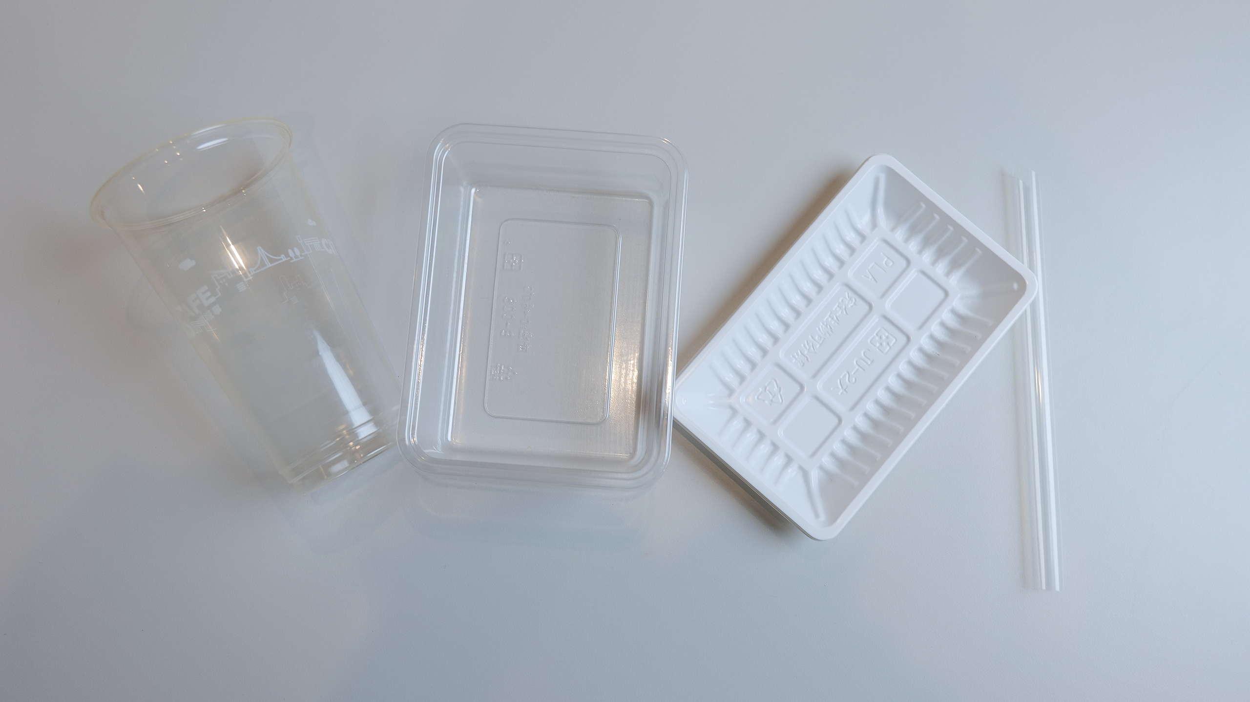 來自超市、超商的生物可分解塑膠