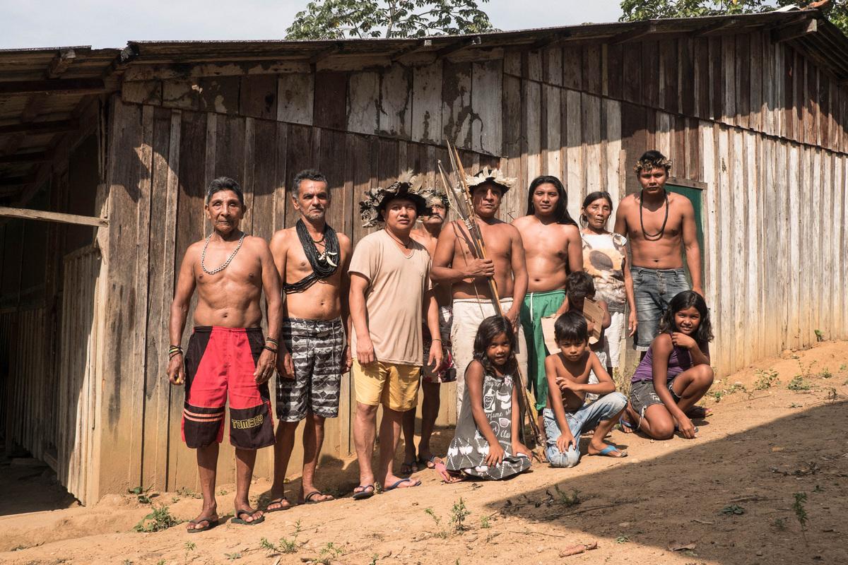 亞馬遜的卡里普納原住民(Karipuna)領地多年來飽受侵擾,遭非法砍伐與侵占土地。