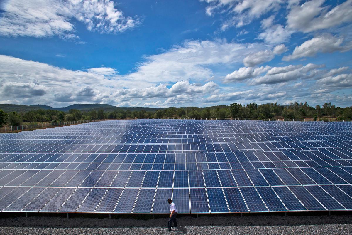 泰國政府為解決能源危機,近年來大力發展太陽能光電。 © Athit Perawongmetha / Greenpeace