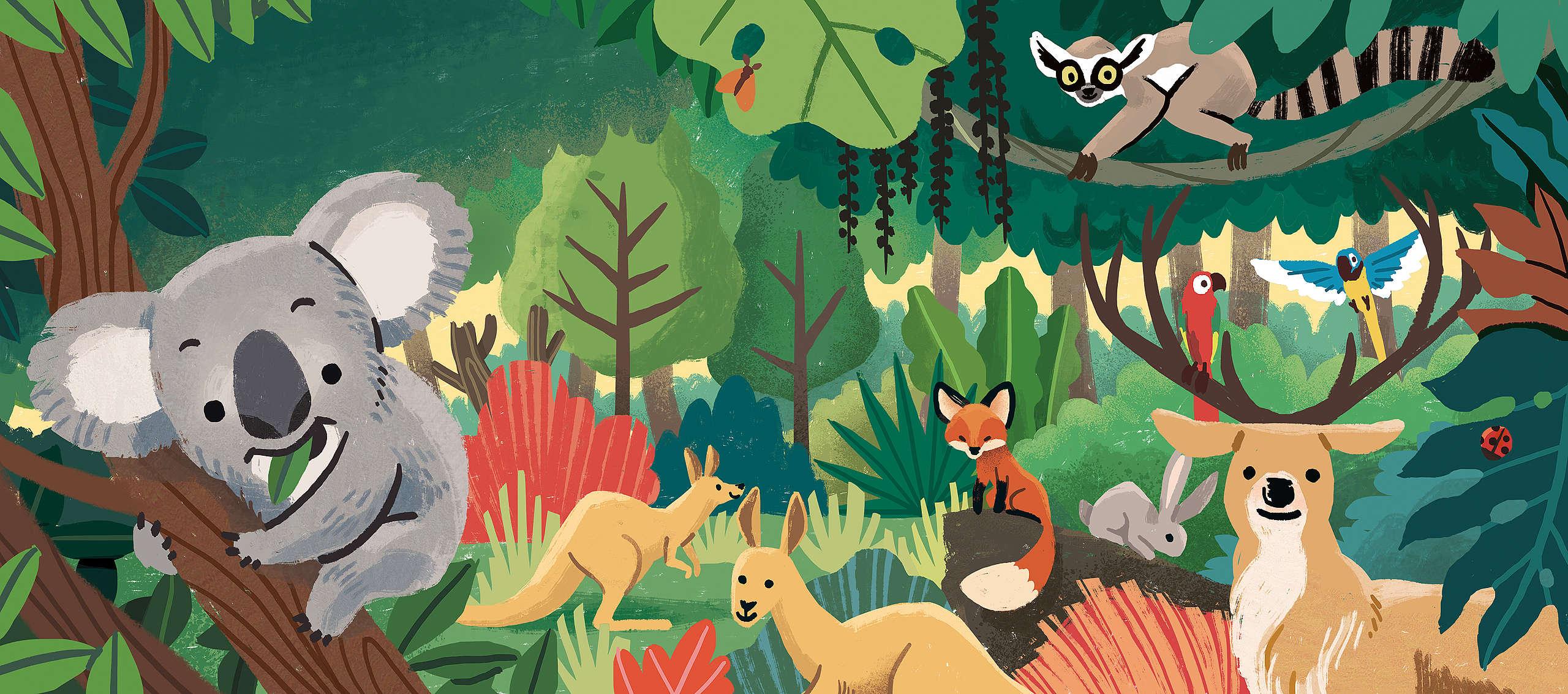 繪本插畫由馬來西亞籍插畫家郭紹尉協同創作,他希望經由繪本中生動可愛的插畫,能夠讓小朋友對於內容有更深刻的印象,並且養成同理心,為環境保護出一份力。© Greenpeace