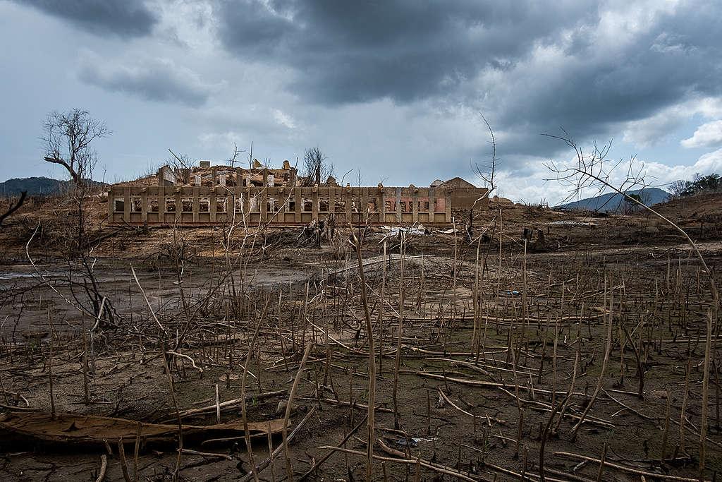 Tashiya表示人類正處在目睹自然景觀瀕臨滅絕的時代,希望透過鏡頭,讓世人正視錯誤政策與認知導致的環境危機。攝於斯里蘭卡。