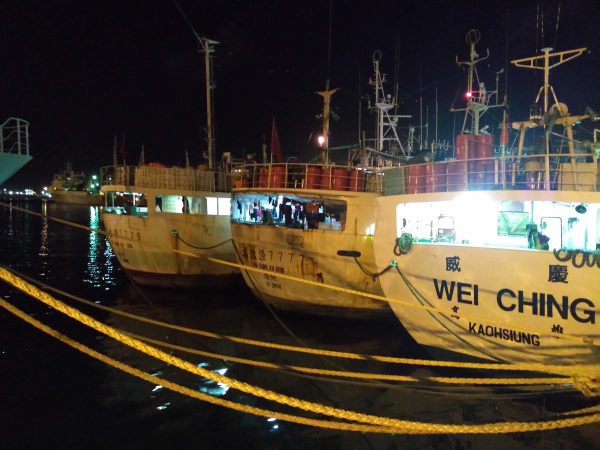 臺籍漁船「威慶」在NOAA(美國國家海洋暨大氣總署)的報告中,被點名涉及非法漁業,而該船也證實曾與臺灣水產企業龍頭「豐群」有漁獲交易。