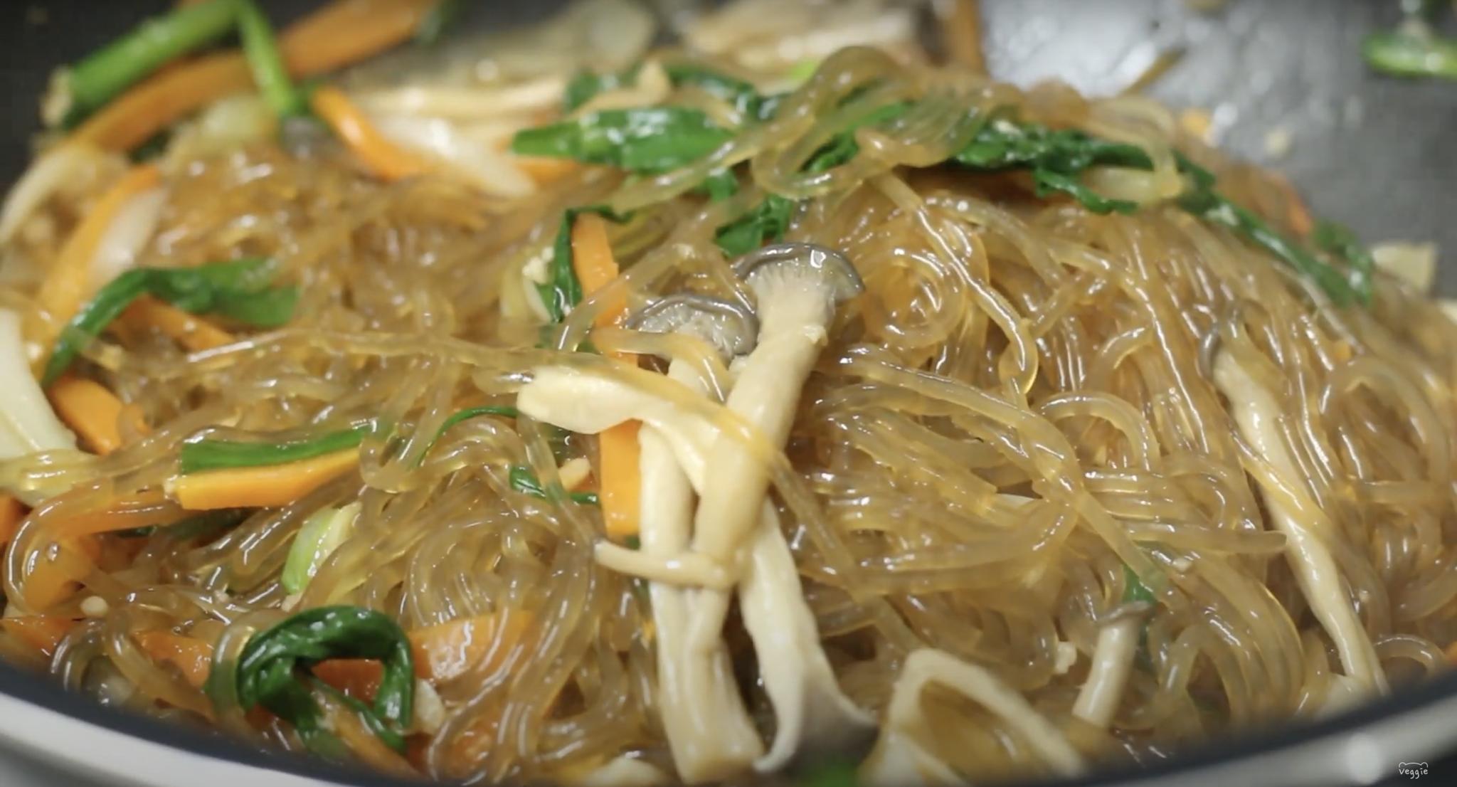 日式蔬食雜菜。