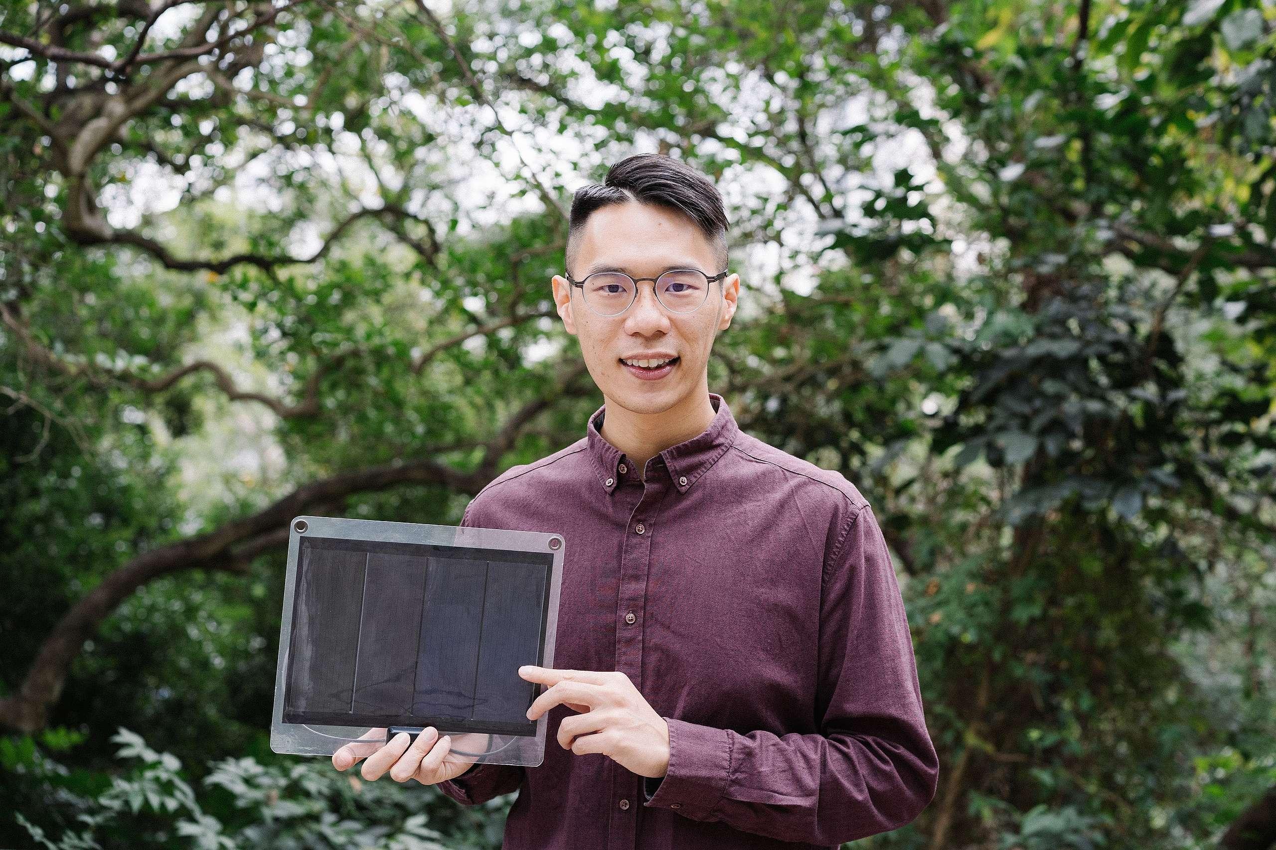 綠色和平香港募款統籌主任Billy,為了環境而選擇成為蔬食者,並在吃素後感受到身心的改變。