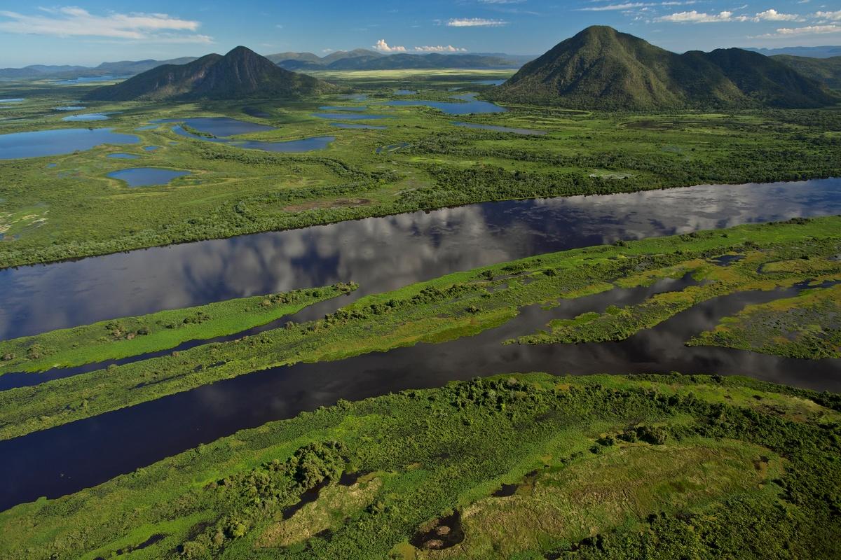 位於巴西的潘塔納爾濕地,生態環境多樣且豐富。