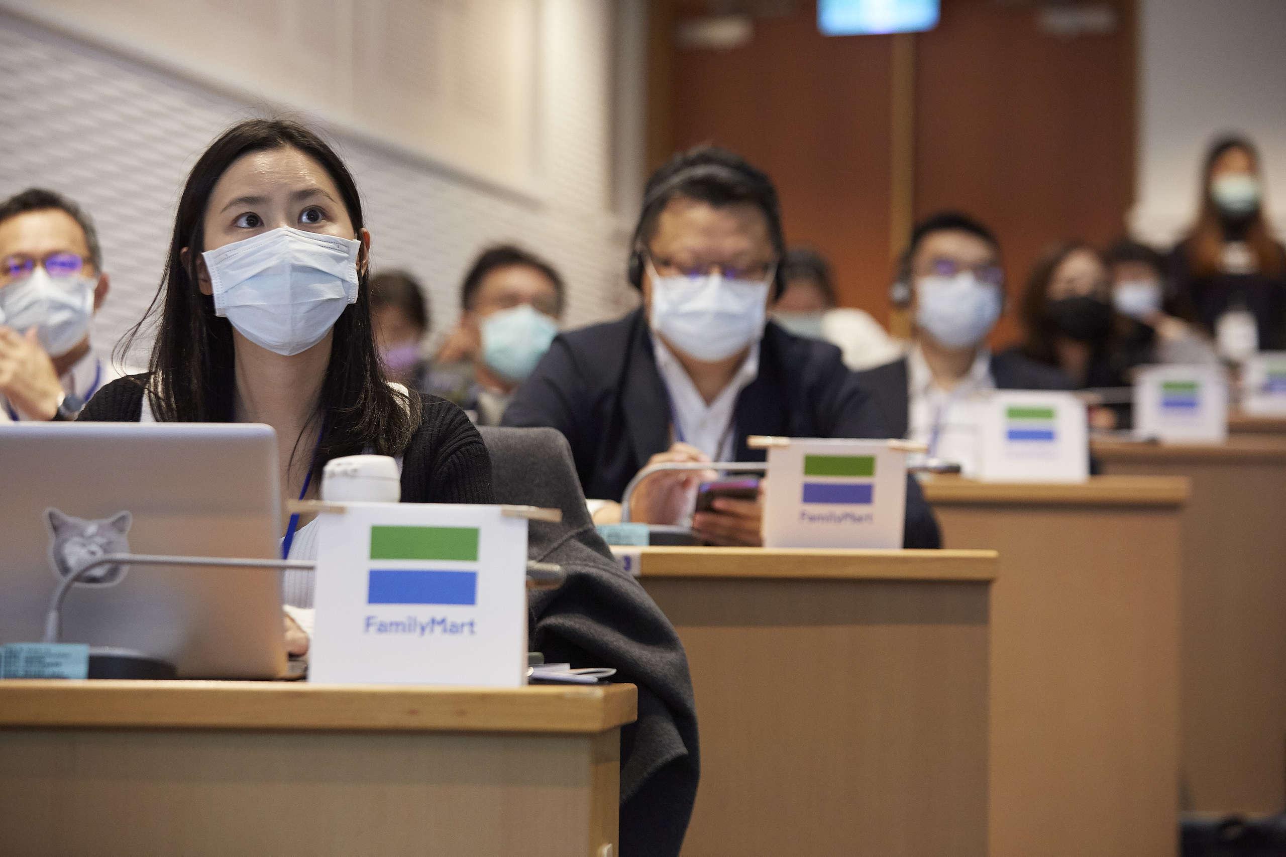 臺灣關鍵零售業踴躍參與論壇。