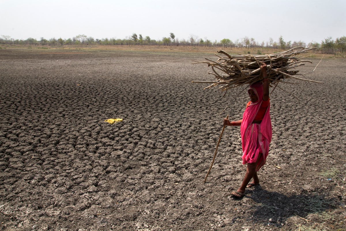 Drought in Maharashtra. © Subrata Biswas / Greenpeace