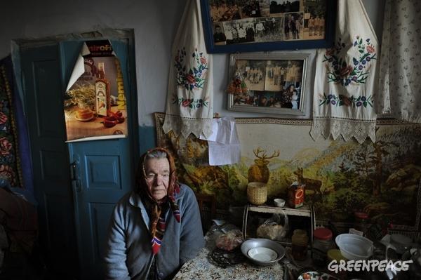Life in the 30 km Zone of Chernobyl © Jan Grarup / Noor / Greenpeace
