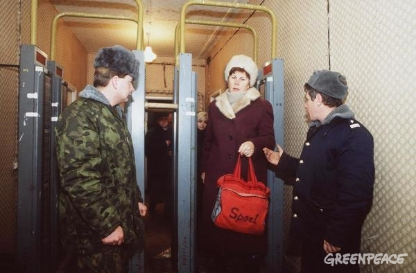 Decontamination Centre in Pripyat © Clive Shirley / Signum / Greenpeace