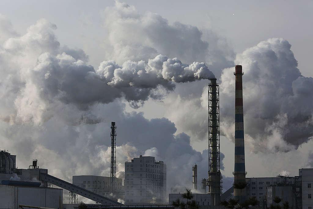 Yulin Coal Industry in China. © Nian Shan / Greenpeace
