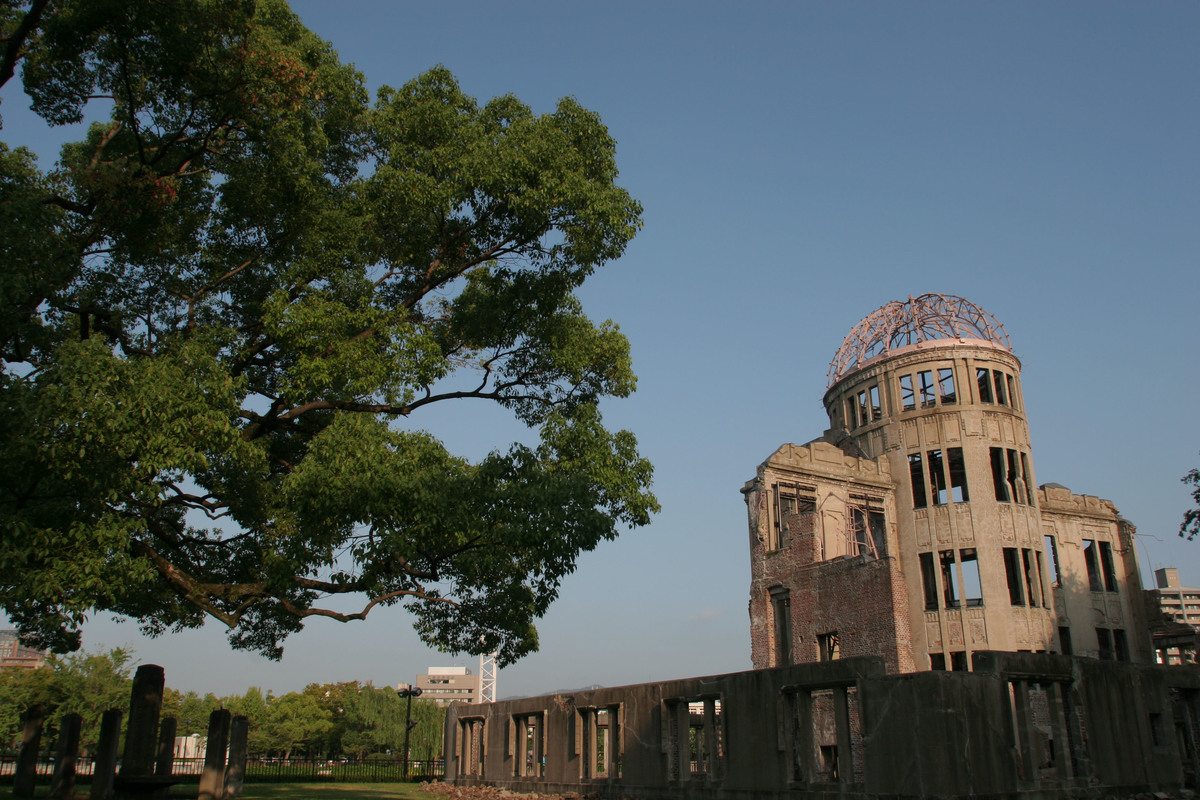 Hiroshima Atomic Bombing 60th Anniversary. Japan 2005. © Greenpeace / Jeremy Sutton-Hibbert