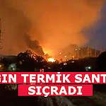 Muğla'da Yangın Termik Santrale Sıçradı