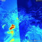 Yangın Bölgesinde Hava Kirliliği Tehdidi