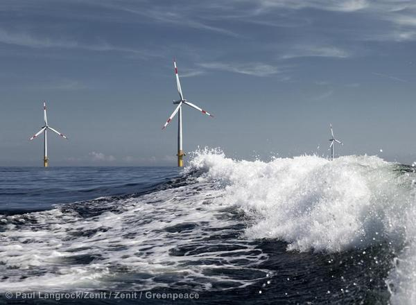 Offshore Wind Farm in the Baltic