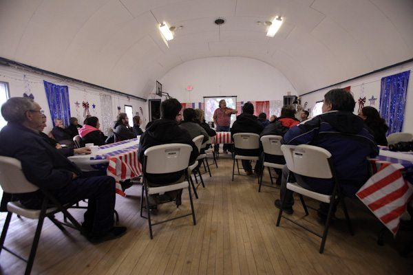Community Meeting on St. George Island, Bering Sea Alaska