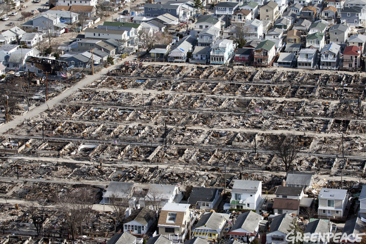 Three Weeks After Hurricane Sandy
