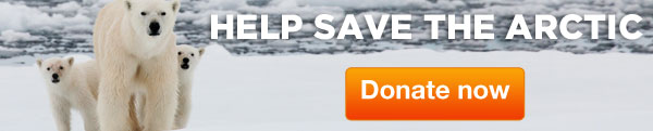 Save the Arctic: Take Action
