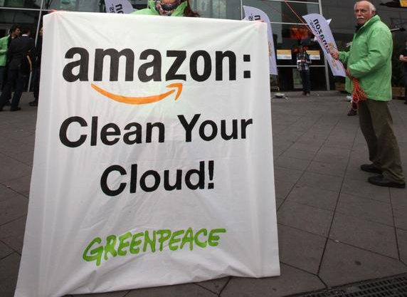 Greenpeace's Investigation of Amazon's Rapidly Growing Cloud