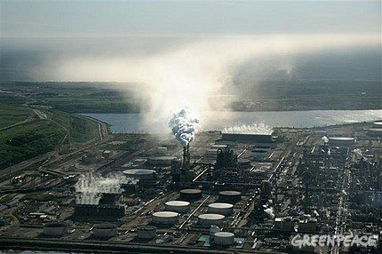 Canada's tar sands are an oil reserve the size of England.