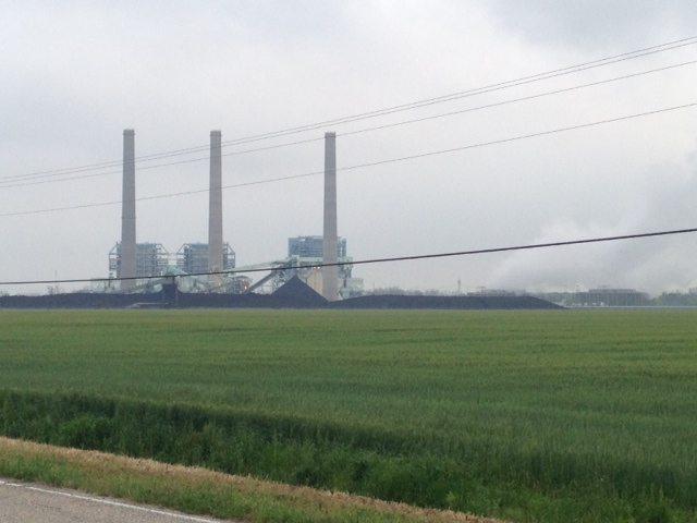 The Big Cajun Coal Fired Power Plant
