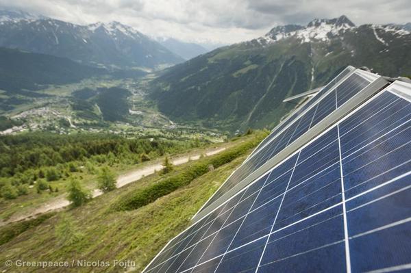 Solar System Installation in BellwaldJugendsolar Bellwald