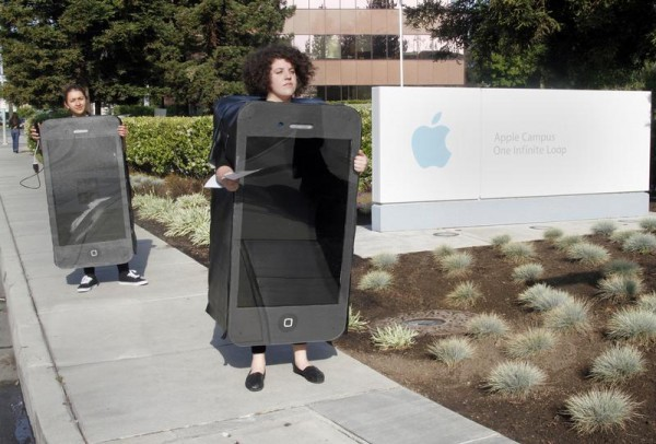 iCloud Action at Apple HQ