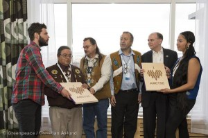 'I love Arctic' book handed to Arctic Council members