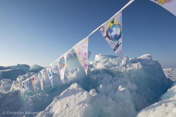 Team Aurora Arrives at the North Pole