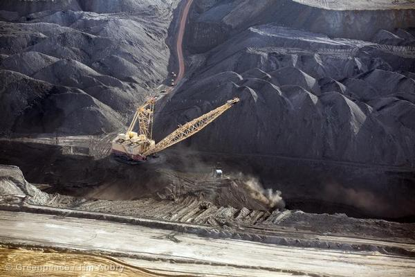 Coal strip mined in the Powder River Basin of Montana and Wyoming is the source of 13% of US carbon pollution