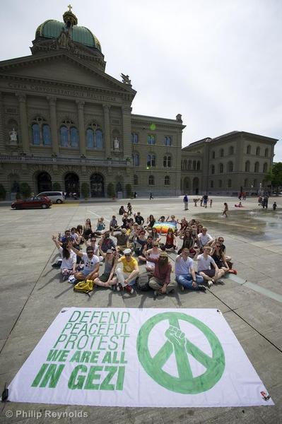 Solidarity Protest for Turkey in Bern Solidarittskundgebung fr die protestierenden Menschen in der Trkei