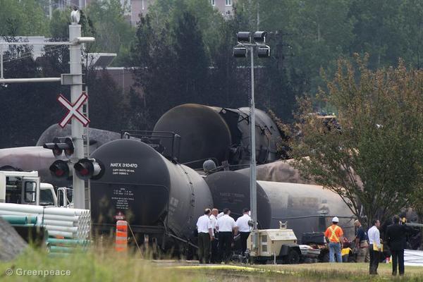 Lac-Mgantic Train Derailment
