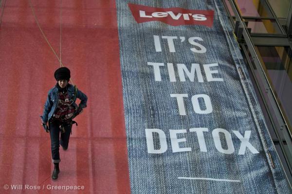 Levi's 'Detox' Action in Copenhagen