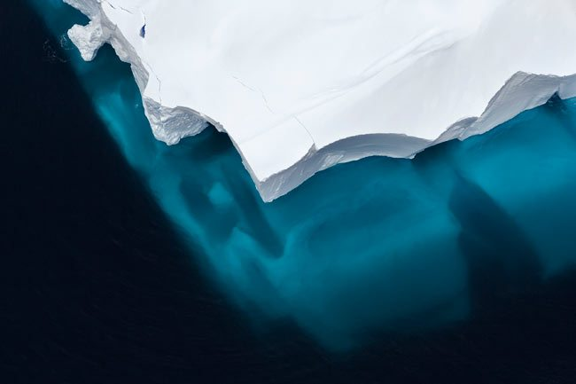 iceberg in the Ross Sea, Antarctica