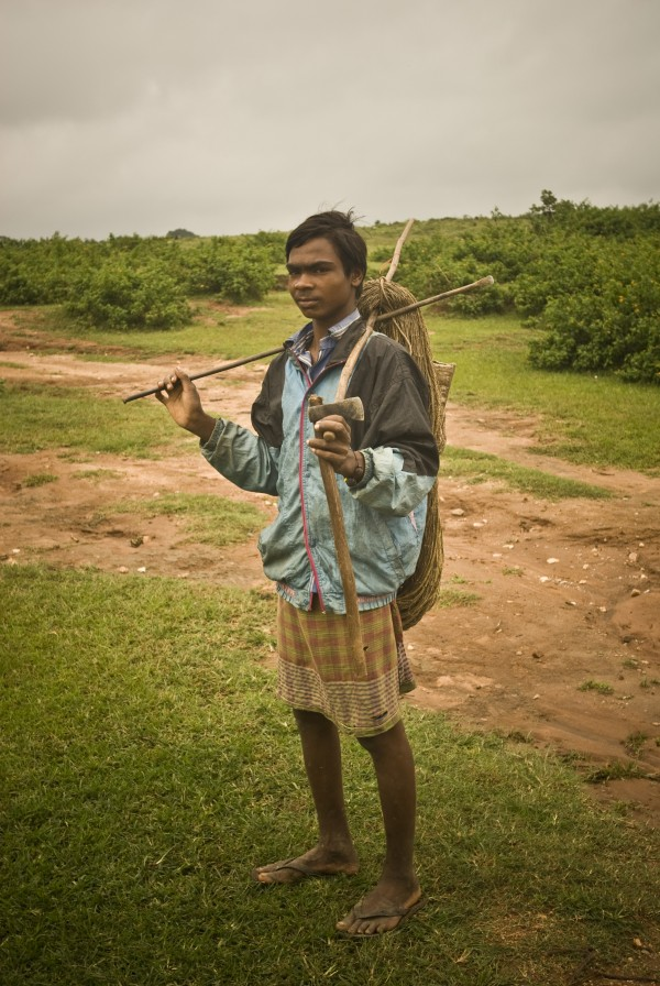 Birhor Tribal hunters
