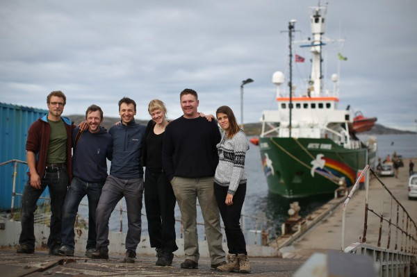 'Confronting Arctic Oil' Activists in Norway