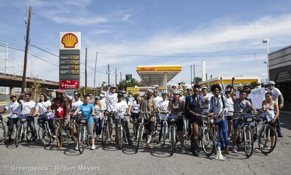 Bike Ride for the Arctic